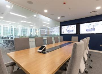 Nord Anglia Education Office 19 boardroom smar UIhCO