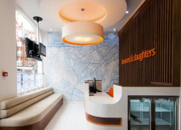 Reception and Client Waiting Area 2