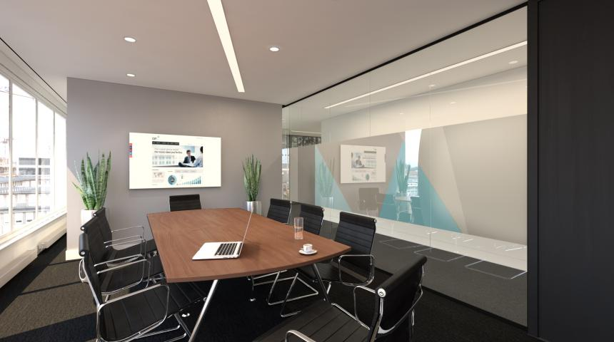 Boardroom depicting Existing Furniture