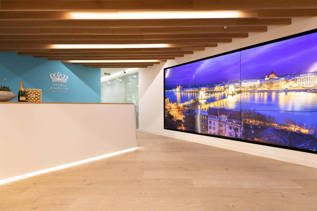 Nord Anglia Education Office reception 1